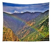 Rainbow Across Canyon Tapestry