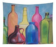 Rainbow Bottles Tapestry