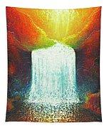 Rainbow Falls Tapestry by Jaison Cianelli