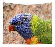 Rainbow Lorikeet Tapestry