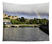 Rainbow Over Inverness Tapestry