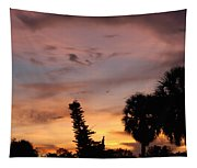Rainbow Sunset Tapestry