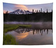 Rainier Lenticular Sunrise Tapestry