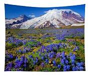 Rainier Lupines Tapestry
