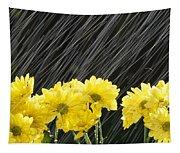 Raining On Yellow Daisies Tapestry