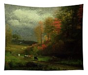 Rainy Day In Autumn Tapestry
