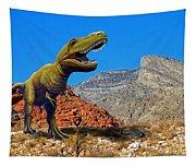 Rajasaurus In The Desert Tapestry