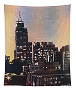 Raleigh Skyscrapers Tapestry