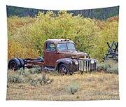 Ranch Truck II Tapestry