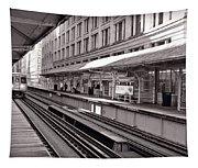 Randolph Street Station Chicago Tapestry