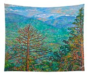 Ranges By Arnold Valley Tapestry