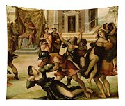 Rape Of The Sabines Tapestry