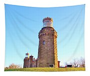 Rapunzels Tower Tapestry