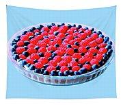Raspberry And Blueberry Tart Tapestry