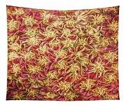 Raspberry Circles Tapestry