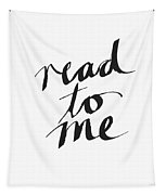 Read To Me- Art By Linda Woods Tapestry