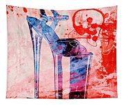 Big Bad Stiletto  Tapestry