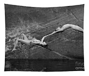 Reclining Nudes Tapestry