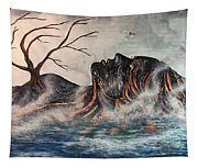 Reclining Pele Tapestry