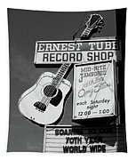 Record Shop- By Linda Woods Tapestry