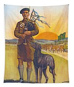 Recruitment Poster The Call To Arms Irishmen Dont You Hear It Tapestry