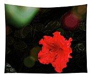 Red Azalea Tapestry