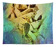 Red Bellied Dream Tapestry