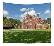 Red Brick Mansion Tapestry