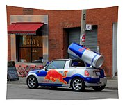 Red Bull Car Tapestry
