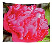 Red Camellia Tapestry