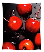 Red Candy Apples Or Apple Taffy Tapestry