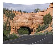 Red Canyon Tunnel Tapestry