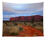 Red Center Dawn Tapestry