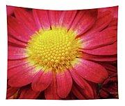 Red Chrysanthemum Tapestry