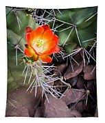 Red Claretcup Cactus Tapestry