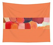 Red Combination Tapestry