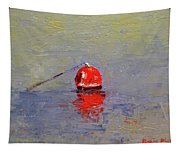 Red Crab Pot Float Tapestry