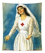 Red Cross Nurse - Ww1 Tapestry