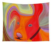 Red Dog Tapestry