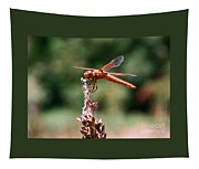 Red Dragonfly II Tapestry