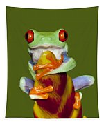 Red Eyed Delight Tapestry