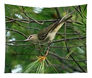 Red Eyed Vireo Tapestry