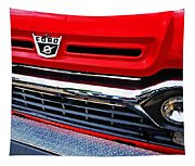 Red Ford Pickup Tapestry