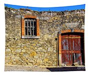 Red Gate, Stone Wall Tapestry