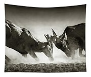 Red Hartebeest Dual In Dust Tapestry