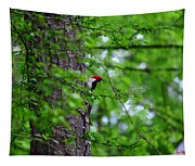 Red Headed Beauty Tapestry