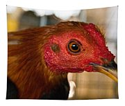 Red Headed Chicken Tapestry