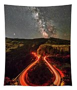 Red Hot Cauldron Tapestry