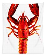 Red Lobster - Full Body Seafood Art Tapestry