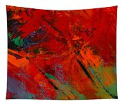 Red Mood Tapestry
